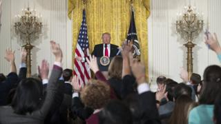 Trump basın toplantısı