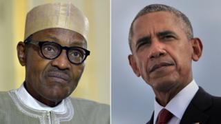 Muhammadu Buhari and Barack Obama