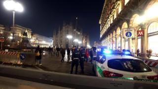 поліція в Мілані