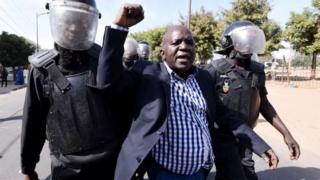 Oumar Sarr, un des opposants arrêtés (Archive)