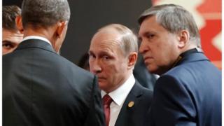 Зустріч Путіна з Обамою