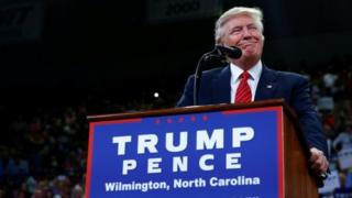 トランプ氏は、「修正第2条の人々」にはクリントン氏を止める方法があるかもしれにないと発言した