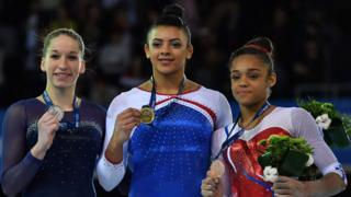 Zsofia Kovacs, Ellie Downie and Melanie De Jesus Dos Santos