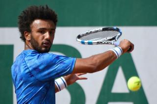 Maxime Hamou at the French Open 2017