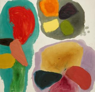 some of Gillian Ayres' work