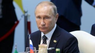 Владимир Путин на саммите БРИКС в индийском штате Гоа