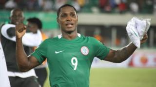 Ighalo Odion of Nigeria Super Eagles