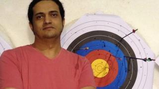 Palestinian artist and poet Ashraf Fayadh