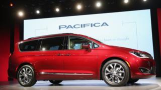 Chrysler Pacifica minivans
