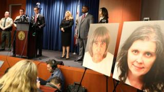 Riverside County District Attorney Mike Hestrin announces charges against David Turpin, 56, and Louise Turpin, 49, in Riverside, California U.S. January 18, 2018.