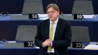 Dutch MEP Guy Verhofstadt