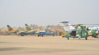Jiragen yakin Nigeria