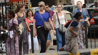 India foreign tourists