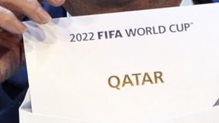 ФИФА объявляет о победе Катара