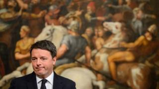 นายมัตเตโอ เรนซี นายกรัฐมนตรีอิตาลี