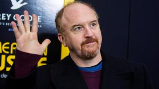 Louis CK at another movie premiere in New York in December 2013