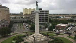 The statue has stood in New Orleans for 133 years