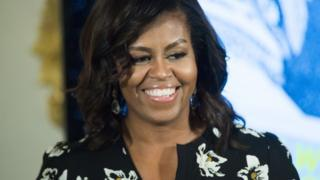 Michelle Obama photographed in October