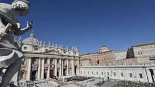 File image of St Peter's square at the Vatican