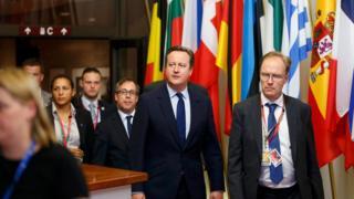 David Cameron ve Ivan Rogers