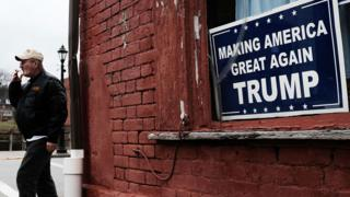 Trump sign in Pennsylvania