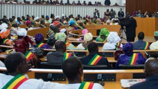 An inside overview of the National Assembly of Senegal