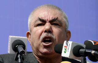 General Əbdül Rəşid Dostum. Kabul: Mart 2014-cü il.