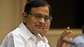 Mr Chidambaram served as finance minister until 2014