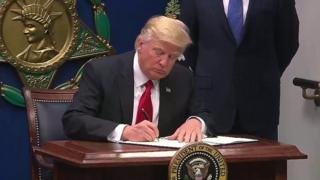 Rais Donald Trump wa Marekani ametoa masharti mapya