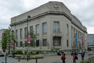Central Library and Graves Art Gallery, Sheffield