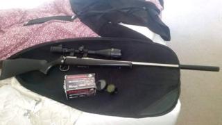 Stolen firearm