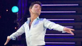 Tom Chambers on Strictly Come Dancing