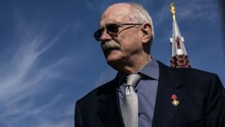 Le directeur du festival international du film de Moscou, le cinéaste Nikita Mikhalkov.