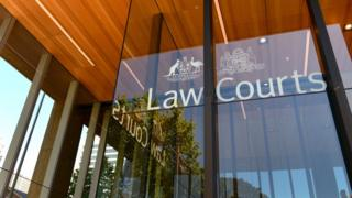 The outside of the Supreme Court of New South Wales (file image)