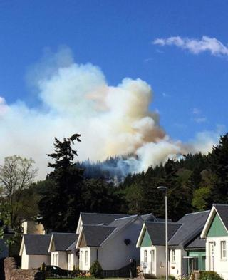 Pitlochry fire