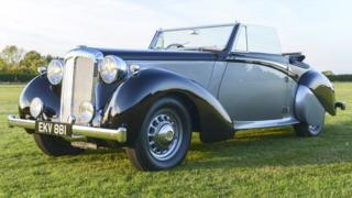 Only eight of the planned 23 Daimler DB18 Drophead Coupes were ever built