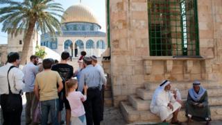 Jews and Arabs on the Temple Mount/Haram al-Sharif