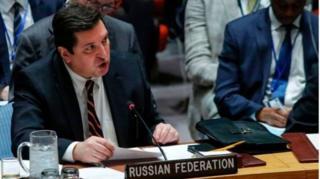 รัสเซีย ปกป้องซีเรียเป็นรอบที่ 8 ในที่ประชุมคณมนตรีความมั่นคงฯ
