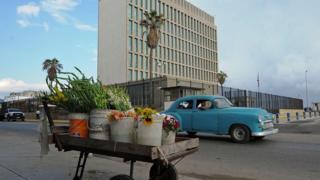 embajada en La Habana