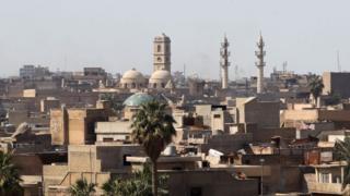 Великая мечеть аль-Нури в Мосуле