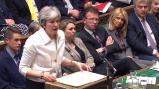 Theresa May parlamento
