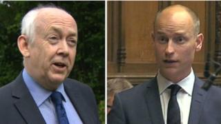 Wayne David and Stephen Kinnock