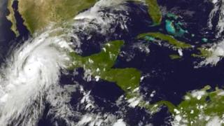 Hurricane Patricia is most powerful to hit the Mexican pacific coast