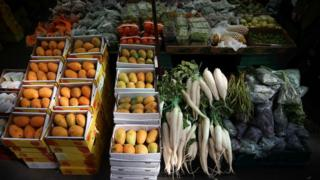 Fruit and veg for sale