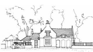 Sketch of plans