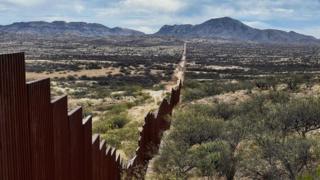 barreira já existente na fronteira