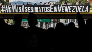 Venezuela protesto
