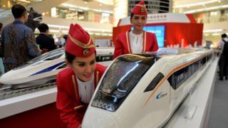 โมเดลรถไฟจีน