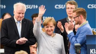 นายกรัฐมนตรี อังเกลา แมร์เคิล แห่งเยอรมนี