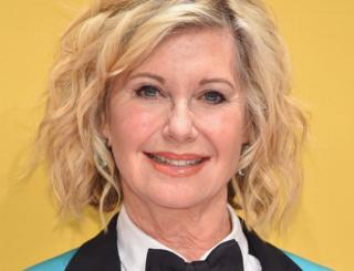 Singer Olivia Newton-John attends the 50th annual CMA Awards at the Bridgestone Arena on 2 November 2016 in Nashville, Tennessee.